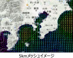 5kmメッシュイメージ